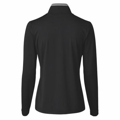 Daily Sports Veriane Long Sleeve Half Neck - Black