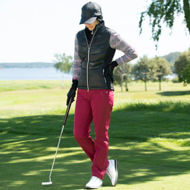 Daily Sports Irene Lined Trouser 32 Inch - Plum