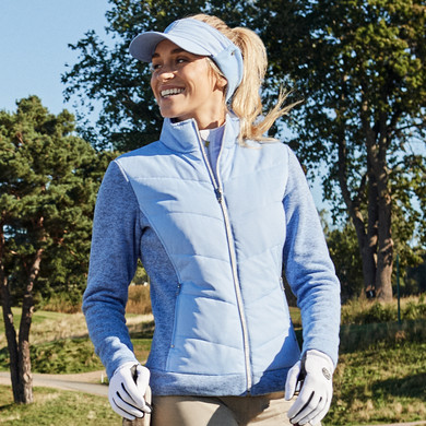 Daily Sports Ladies Knitted and Quilted Karat Jacket - Alaska
