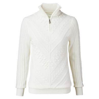 Daily Sports Amedine Long Sleeve Lined Pullover - White