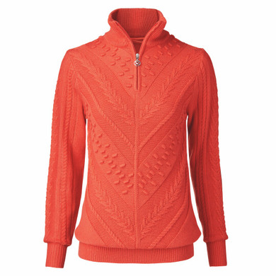 Daily Sports Amedine Long Sleeve Lined Pullover - Autumn Leaf