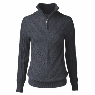 Daily Sports Amedine Long Sleeve Lined Pullover - Navy