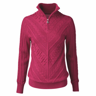 Daily Sports Amedine Long Sleeve Lined Pullover - Plum