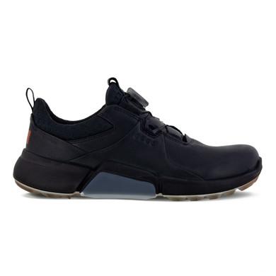 Ecco Ladies Biom H4 Boa Waterproof Golf Shoes- Black