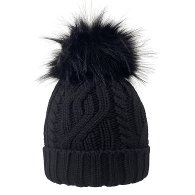 Surprizeshop Waterproof  Golf Bobble Hat - Black