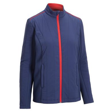 Callaway Golf Ladies Primaloft Mixed Media Jacket- Navy