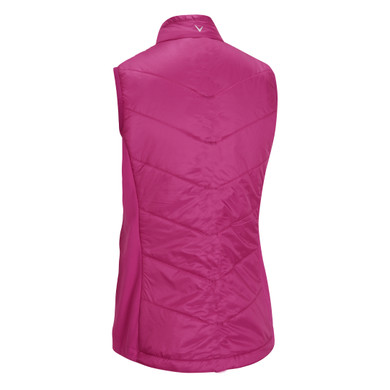 Callaway Golf Ladies Primaloft  Quilted Vest - Pink