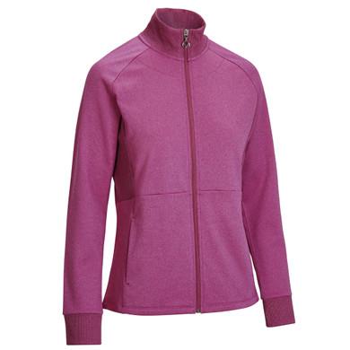 Callaway Golf Ladies Midweight Full Zip Fleece Jacket - Cactus Flower