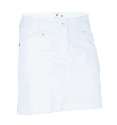 Daily Sports White Lyric Ladies Golf Skort 52 CM - Front