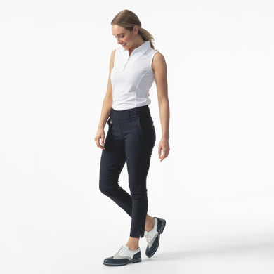 Daily Sports Magic Navy Ankle Trouser Ladies Golf 94 CM - Front Lifestyle 2