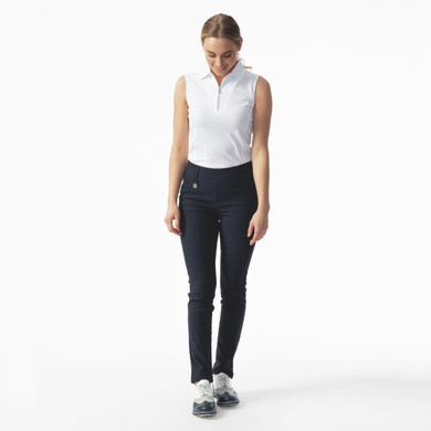 Daily Sports Magic Navy 29 Inch Trouser Ladies Golf - Front Lifestyle