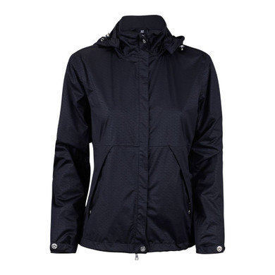 Daily Sports Merion Waterproof Jacket Black- Front