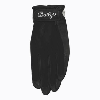 Daily Sports Sun Glove Black - Front