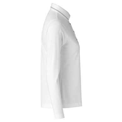 Daily Sports Marika Long Sleeve Polo Shirt White - Side
