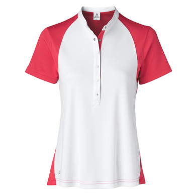 Daily Sports Tora Short Sleeve Polo Shirt Sangaria Red - Front