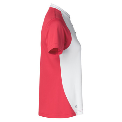 Daily Sports Tora Short Sleeve Polo Shirt Sangaria Red - Side