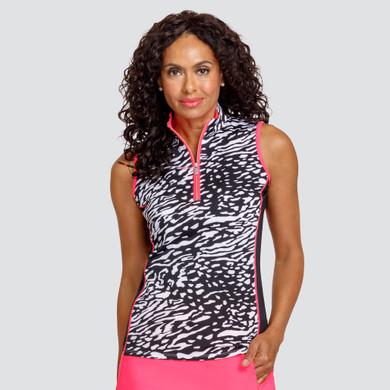 Tail Ladies Golf Ariadne Sleeveless Polo - Zanimal