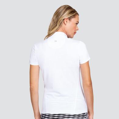 Tail Ladies Golf Kai Short Sleeve Polo - White