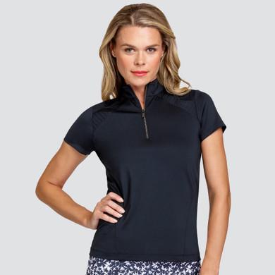 Tail Ladies Golf Kai Short Sleeve Polo - Black