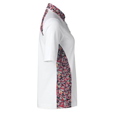 Daily Sports Rick Half Sleeve Polo Shirt White - Side