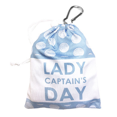 Lady Captain's Day Tee and Accessory Bag- Blue