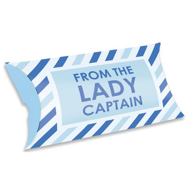 From The Lady Captain  Pillow Gift Boxes Pack of 10