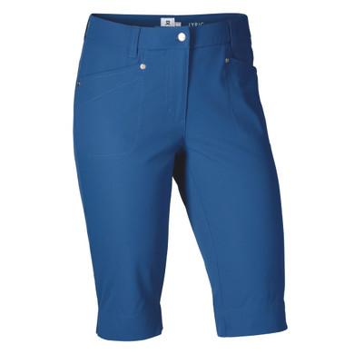 Daily Sports Knee Lengh Lyric City Golf Shorts 62 CM Night Blue - Front