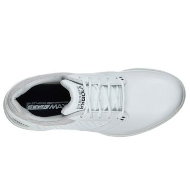 Skechers Ladies Go Golf Elite 3 Deluxe Waterproof Golf Shoes - White and Navy