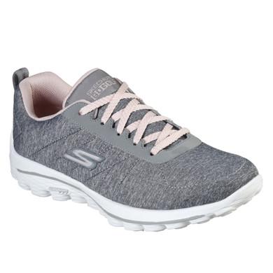Skechers Ladies Go Golf Walk Sport Golf Shoes - Grey and Pink