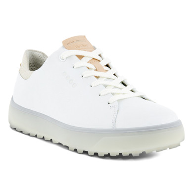 Ecco Ladies Golf Tray Golf Shoes- Bright White