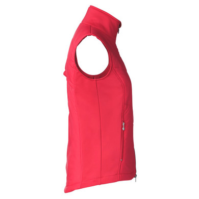 Daily Sports Draw Vest Sleeveless Sangaria Red - Side