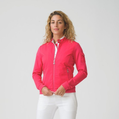 Daily Sports Break Jacket Long Sleeve Red - Front Lifestyle