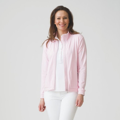 Daily Sports Biarritz Jacket Long Sleeve Pink - Front Lifestyle