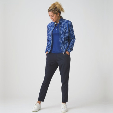 Daily Sports Pammy Jacket Long Sleeve Night Blue - Front Lifestyle