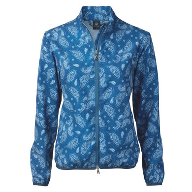Daily Sports Pammy Jacket Long Sleeve Night Blue - Front