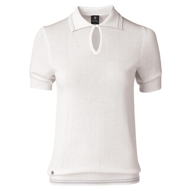 Daily Sports Elin 1/2 Sleeve Jumper White - Front