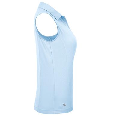 Daily Sports Macy Polo Shirt Breeze Blue - Side