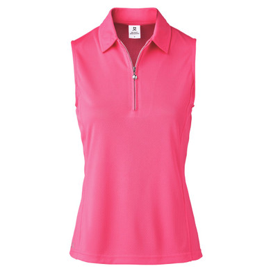 Daily Sports Macy Polo Shirt Fruit Punch Pink - Front