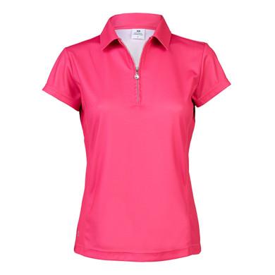 Daily Sports Macy Cap Sleeve Polo Shirt - Watermelon