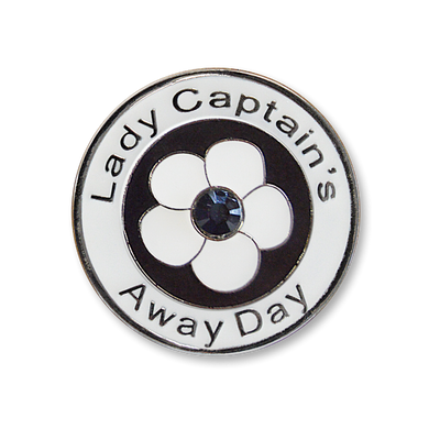 Lady Captain's Away Day Swarovski Crystal Ball Marker- Black