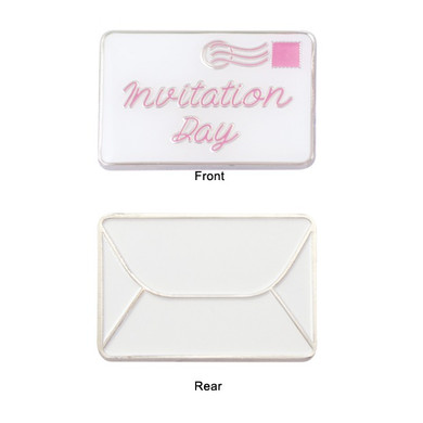 Invitation Day Golf Ball Marker - Pink