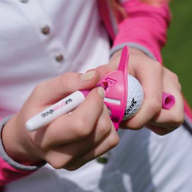 Hot Pink Golf Ball Liner