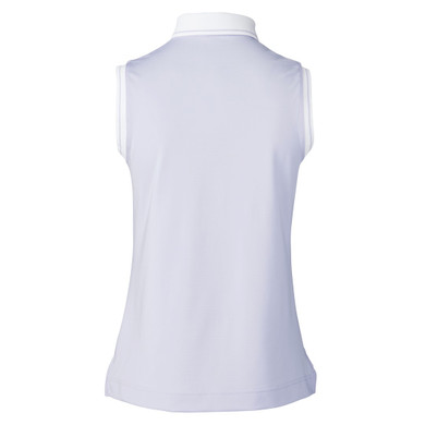 Daily Sports Milia Sleeveless Polo Shirt - Lilac Salvia