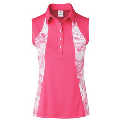Daily Sports Adelina Sleeveless Polo Shirt - Fruit Punch
