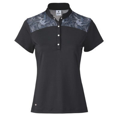 Daily Sports Sigrid Short Sleeve Polo- Navy