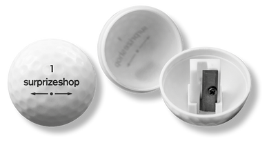 Golf Ball Pencil Sharpener - White