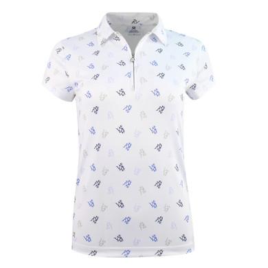 Daily Sports Ventura Cap Sleeve Polo- White