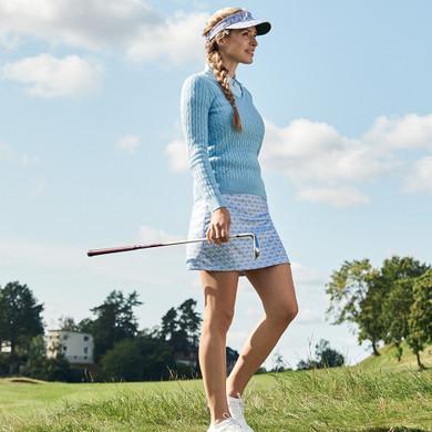 Daily Sports Sue Pull On Skort 50 CM - Blue Breeze