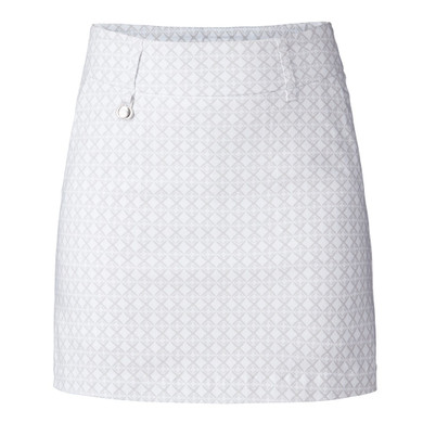 Daily Sports Caterina Pull On Magic Skort 45 CM - White and pearl