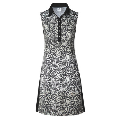 Daily Sports Tiana Sleeveless Dress- Beige Zebra